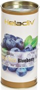 Черный чай Heladiv Blueberry (голубика), 100г, в тубе
